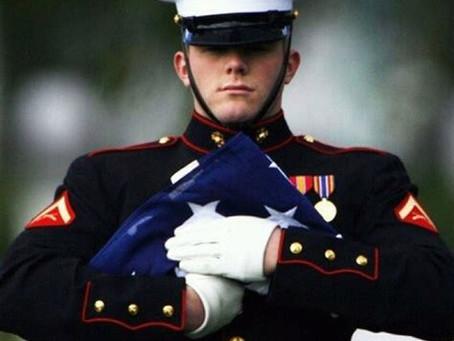 A fallen Marine comes home