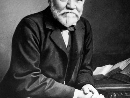 Andrew Carnegie journeyed from Scottish rags to American riches