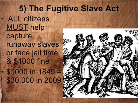 Frederick Douglass confronts the Fugitive Slave Act