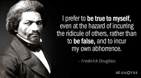 Frederick Douglass begins the Civil Rights Movement