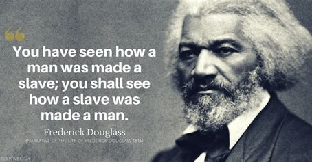 Frederick Douglass embarks on his next mission