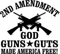 2nd Amendment proclaims the Right to Bear Arms