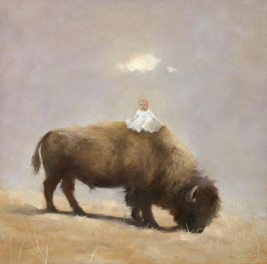 Buffalo with Frame