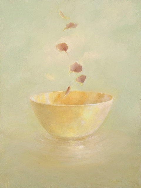 Bowl with Bohdi Leaves
