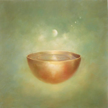 moonlight bowl with stars.