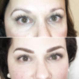 Le maquillage permanent peut redefinir la forme des sourcils pour un visage plus harmonieux.