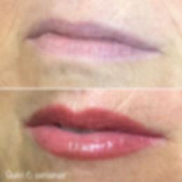 Lip blush, technique de maquillage permanent des lèvres