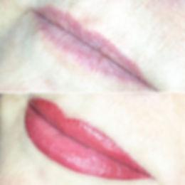 Le maquillage permanent des lèvres permet de redefinir le contour et créer une illusion de volume.