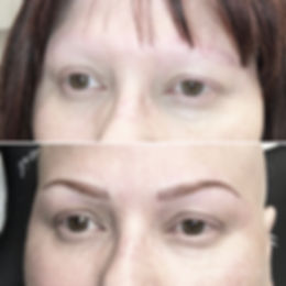 maquillage permanent, Alopecia, tatouage cosmétique, Attraits Beauté, Montreal, microblading, sourcils permanents, spécialiste en maquillage permanent, poil par poil, Barbara Kirste