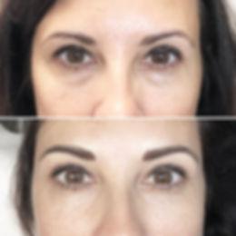 Rajouter du corps à des sourcils existants avec la technique de maquillage permanent poil par poil