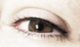 Maquillage permanent, tatouage cosmétique, Attraits Beauté, Montréal, eyeliner permanent, eyeliner parfait, Spécialiste, Barbara Kirste