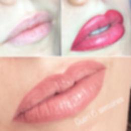 Le maquillage permanent appellé lip blush donnera aux lèvres, une fois gueri, un coloration naturelle et une forme parfaite.