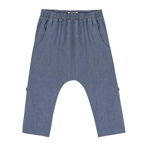 Calça  Basic Plano Jeans Ecológico