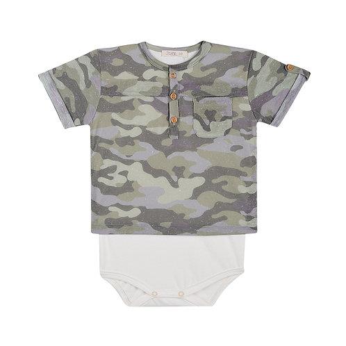 Body Camiseta Estampado