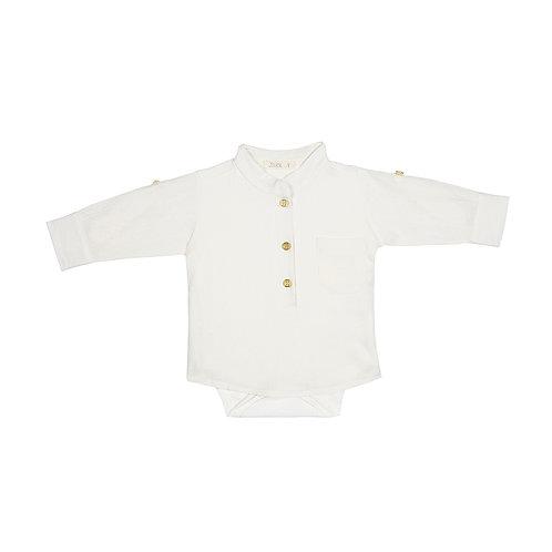 Body Camisa Basic M/L Off