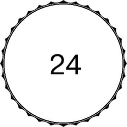 Окантовка-24