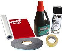 Расходные материалы для изготовление печатей