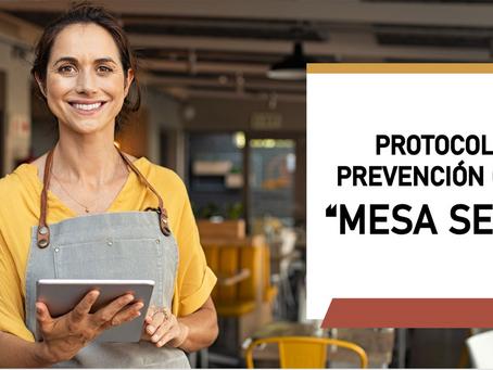 """CANIRAC lanza protocolo de prevención """"Mesa Segura"""" para Restaurantes."""