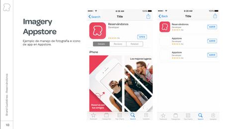 App IOS & Android Reservándonos
