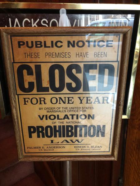 Prohibition Speakeasy 2018