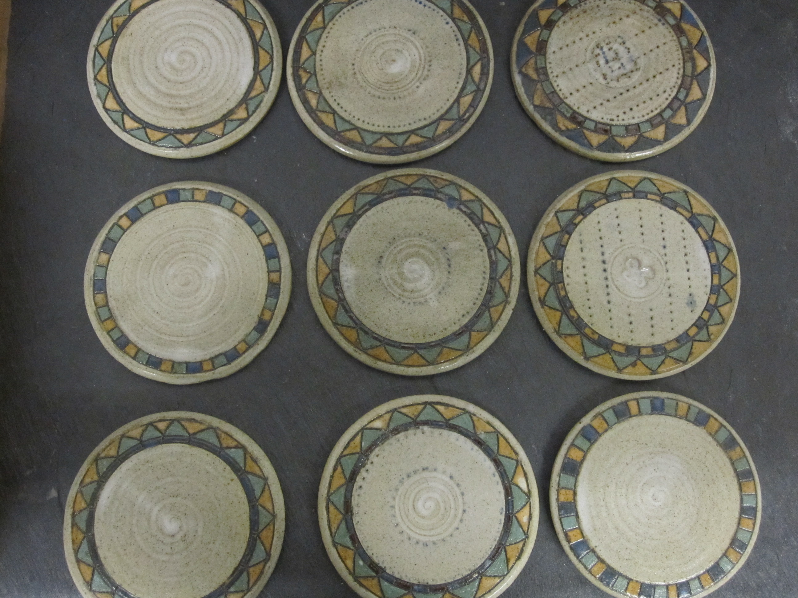 selection of coasters