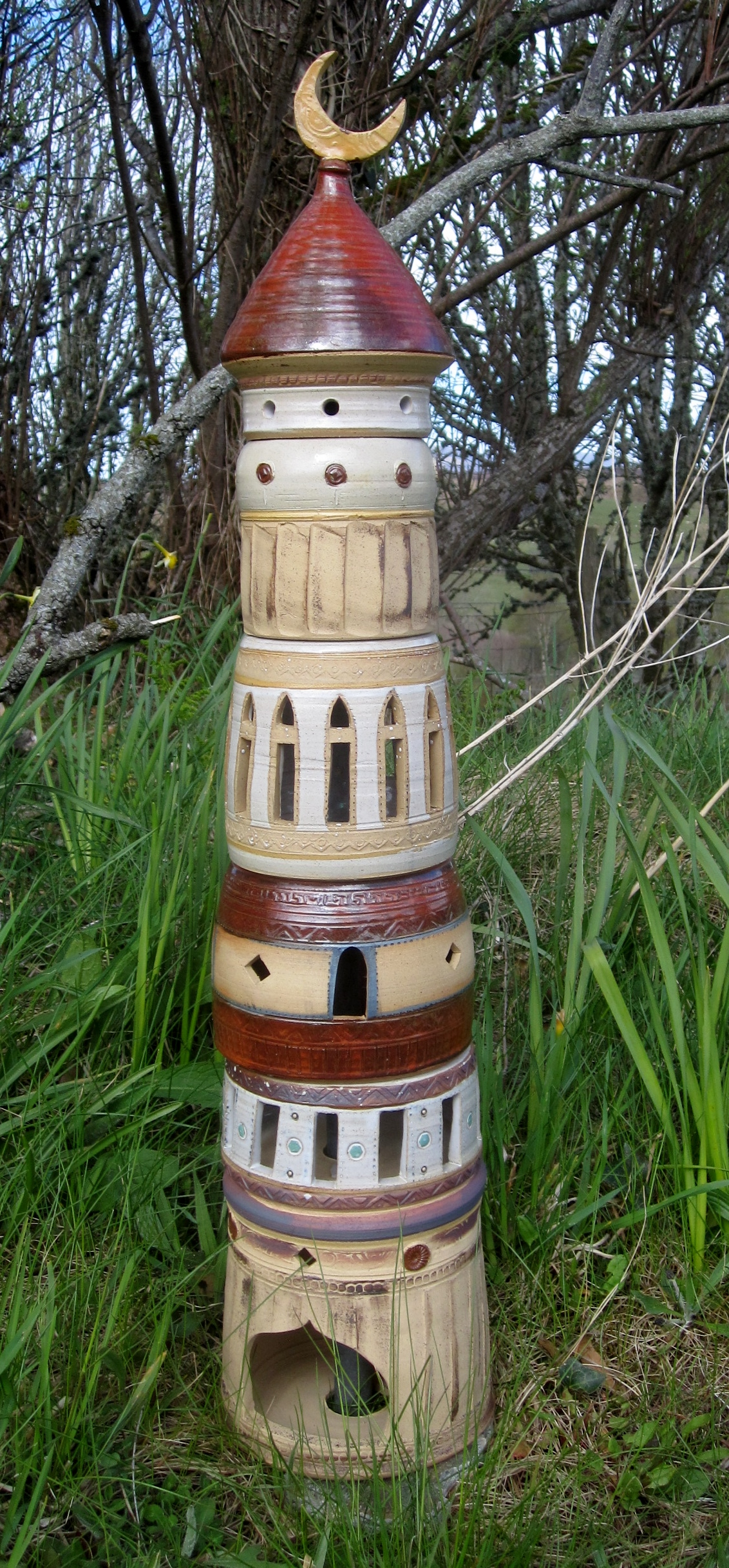 wizard tower for the garden