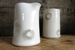 spotty porcelain