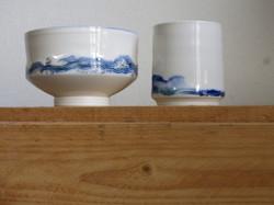 seascape porcelain, limited edition