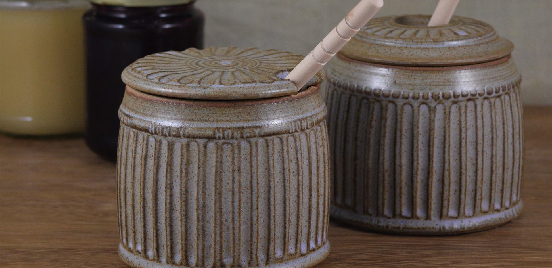 Honey Pots, two designs
