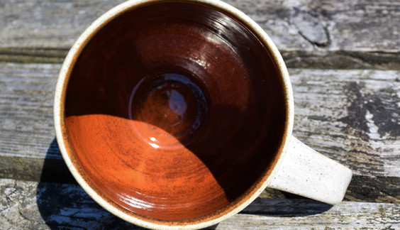 Curvy Mug, inside