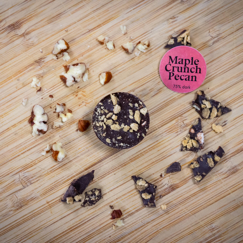 Maple Crunch Pecan 75%