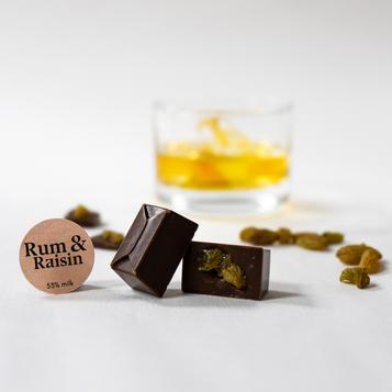 Rum & Raisin 53%