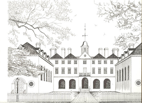 Original Pen and Ink College sketches