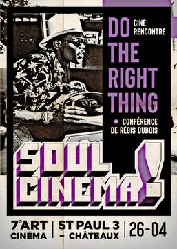 """Soul Cinéma le 26 Avril au Cinéma """"Le Septième Art"""""""
