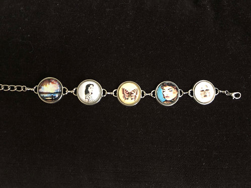 Bracelet of Sophia's Artwork