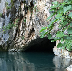 Řeka Buna - pramen