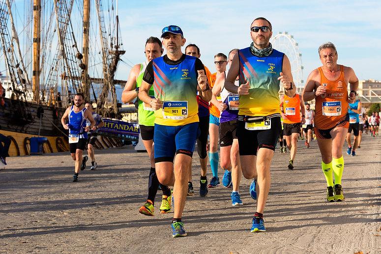 Plan d'entrainemen pour semi marathon 4 séances penant 8 semaines