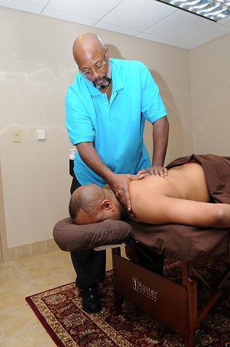 Récupération musculaire par un massage