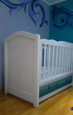 cuna de bebé mary