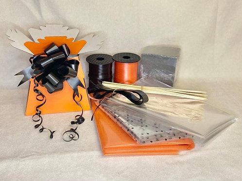 Make your own chocolate bouquet kit orange