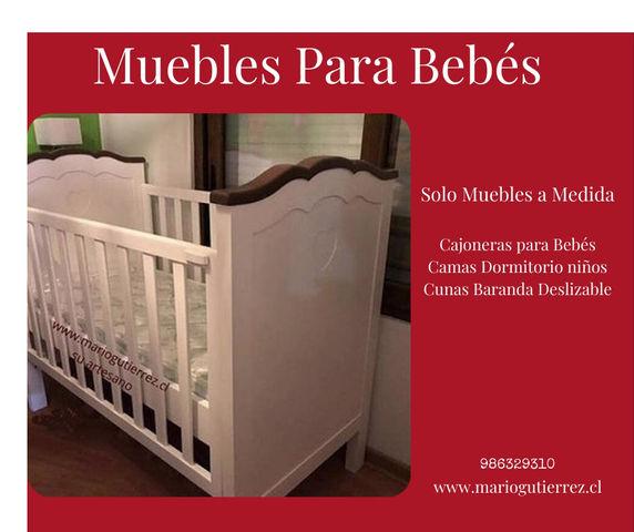 Cómodas Cambiador, Cunas para Bebés