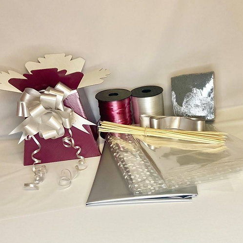 Make your own chocolate bouquet kit Burgundy