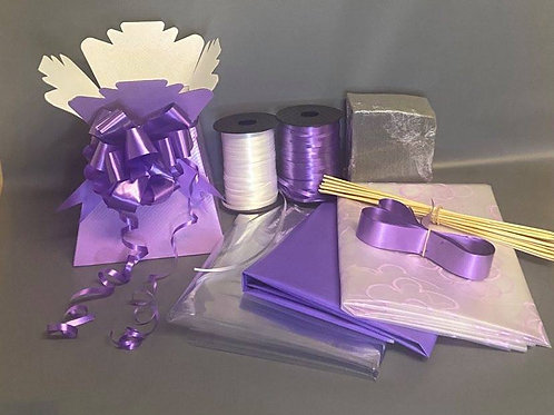 Make your own chocolate bouquet kit Lilac