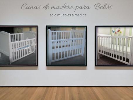 Cunas de Madera para Bebés a Medida