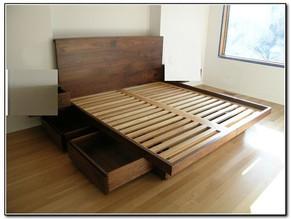 cama dos, una plaza y media con nido