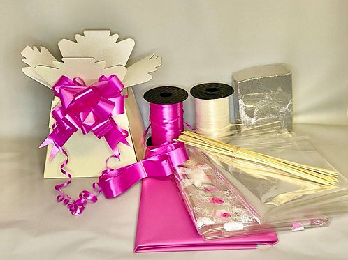 Make your own chocolate bouquet kit Ivory