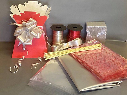 Make your own chocolate bouquet kit RED