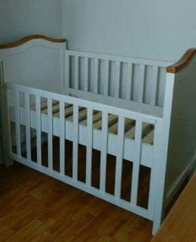 cuna de bebé pamela