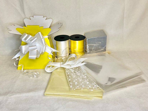 Make your own chocolate bouquet kit Yellow