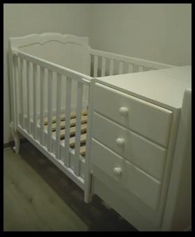 cuna de bebé Daniela